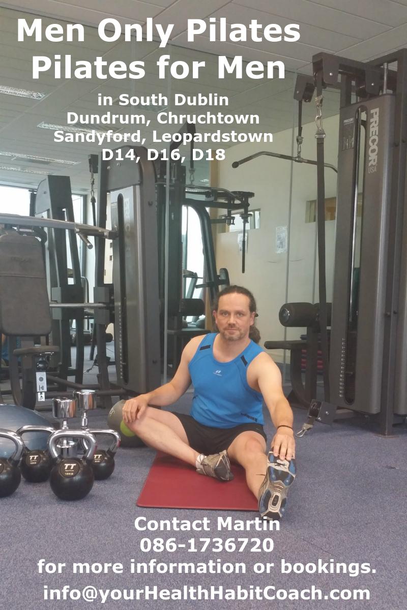 Pilates for Men - Men Only Pilates Core Strength Exercises in South Dublin Dundrum Sandyford Leopard