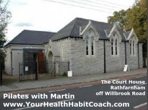 Pilates with Martin in South Dublin Rathfarnham in the Court House Parish Pastoral Centre Dublin 14-2