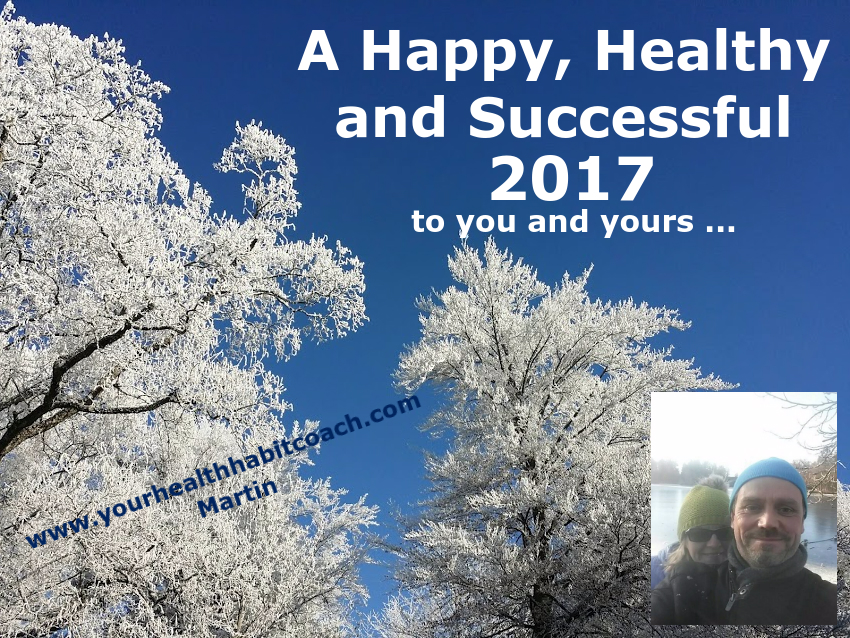 A happy successful and health 2017 from Martin Luschin in South Dublin Ireland, Your Health Habit Coach planning ahead for 2017