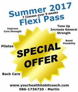 2017 Special Summer Offer Deal Fitness Exercise Classes Courses in South Dublin 18, Dublin 14 Dublin 16