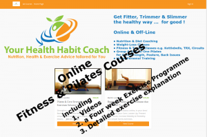Online Fitness Exercise Pilates Courses Ireland released August 2017 with Martin Luschin
