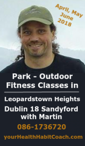 MUGA April May 2018 Outdoor Fitness Classes Leopardstown Sandyford in South Dublin with Martin Bootcamp v2