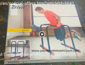 Preview video Lidl Exercise Bars Parallel Bars Calisthenics Bars Fitness Exercise South Dublin Ireland Martin Luschin