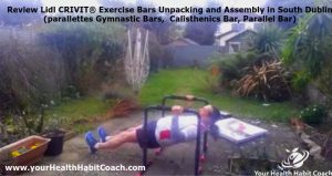 Review Lidl CRIVIT Exercise Bars by Martin Luschin Unpacking Assembly in South Dublin Parallettes Gymnastic Bars 4
