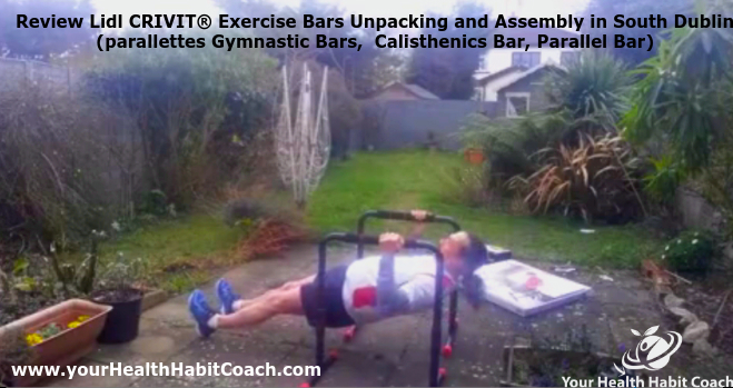 Review Lidl CRIVIT® Exercise Bars Unpacking and Assembly in